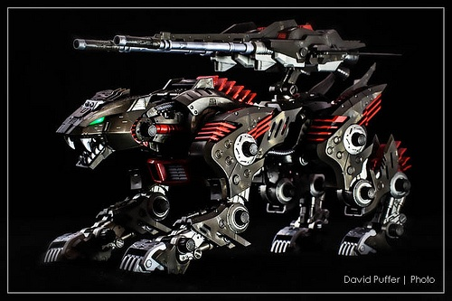 Lightning Saix Completed version.#zoids #toys #models #anime #kotobukiya #lightningsaix #photography
