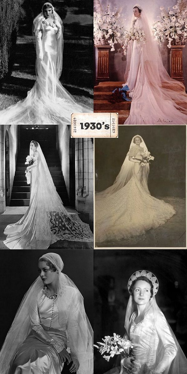 robes de mariée 1930