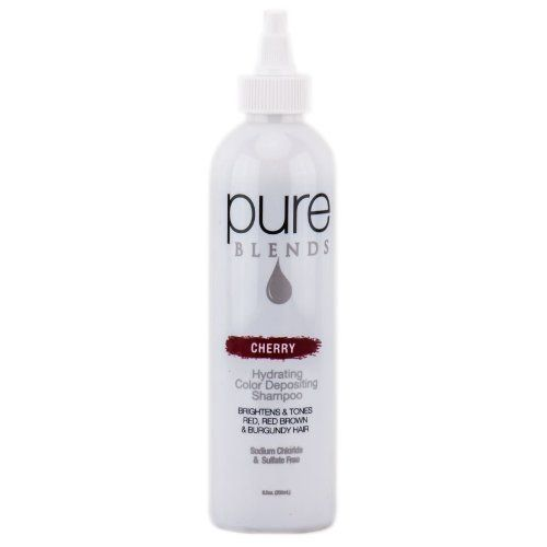 Pure Blends Hydrating Color Depositing Shampoo - Cherry - 8.5 oz *** For more information, visit image link. (Amazon affiliate link)