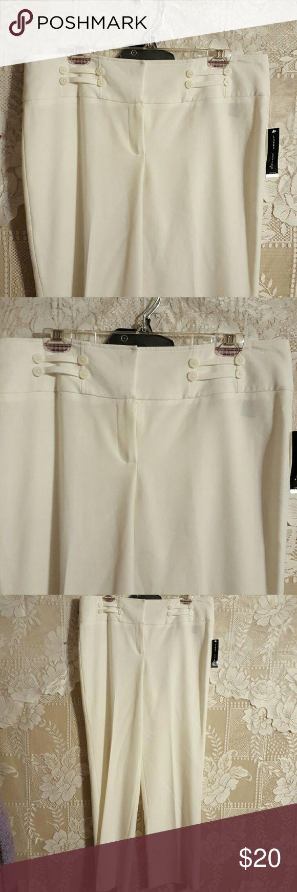 Size 12 Stretch Dress Pants by Larry Levine NWT Larry Levine Pants Trousers