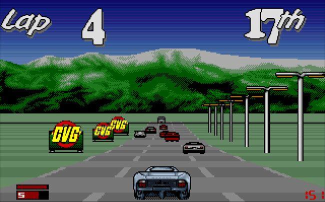 Jaguar XJ220 - Amiga Game Screenshot