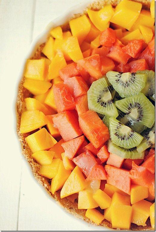 Tropical Fruit Pie | Recipe | Fruit Pie, Tropical Fruits and Tropical ...