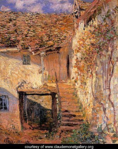 The Steps - Claude Oscar Monet - www.claudemonetgallery.org