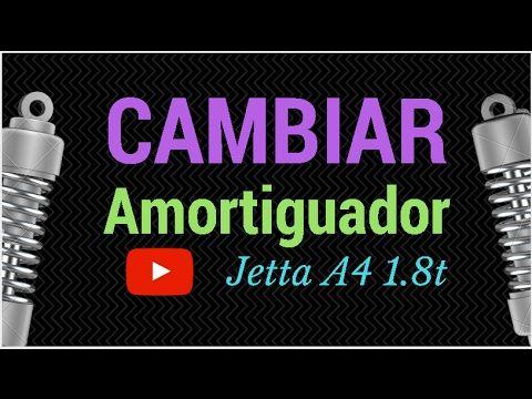 cambiar amortiguadores traseros Jetta A4 1.8 t - YouTube