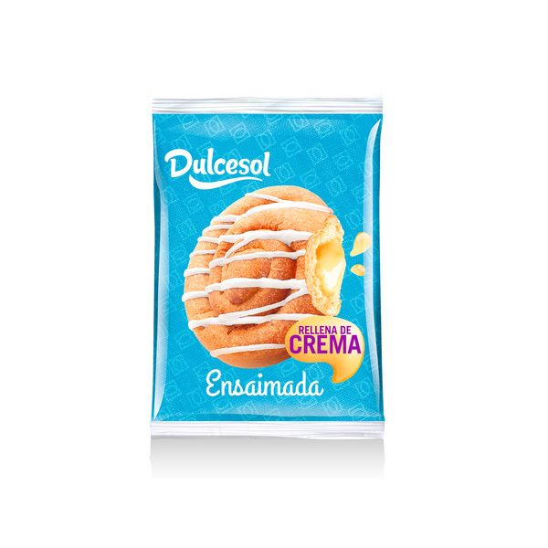 Ensaimada crema - Dulcesol