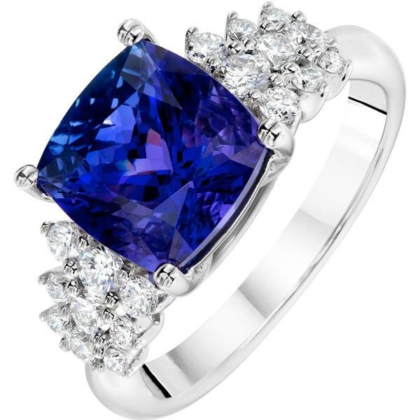 tanzanite engagement rings for women - 600×600