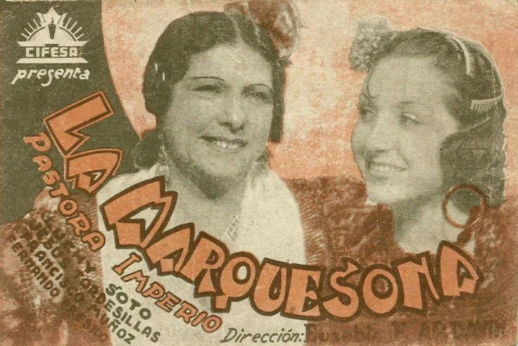 La marquesona (1939) de Eusebio Fernández Ardavín - tt0031629
