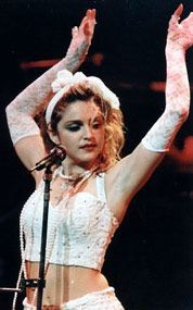 Loved Madonna when she first came onto the music scene....