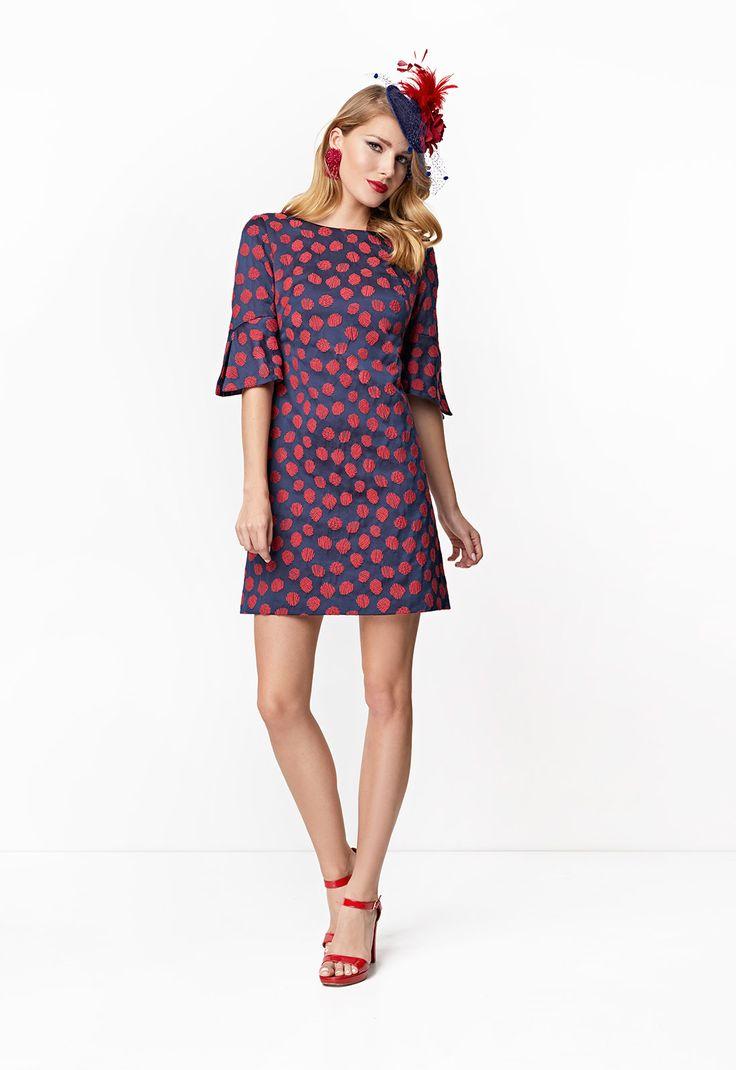 Consigue el vestido Vestido trapecio 8437 en Cabotine. Todo en las últimas tendencias y los mejores diseños.