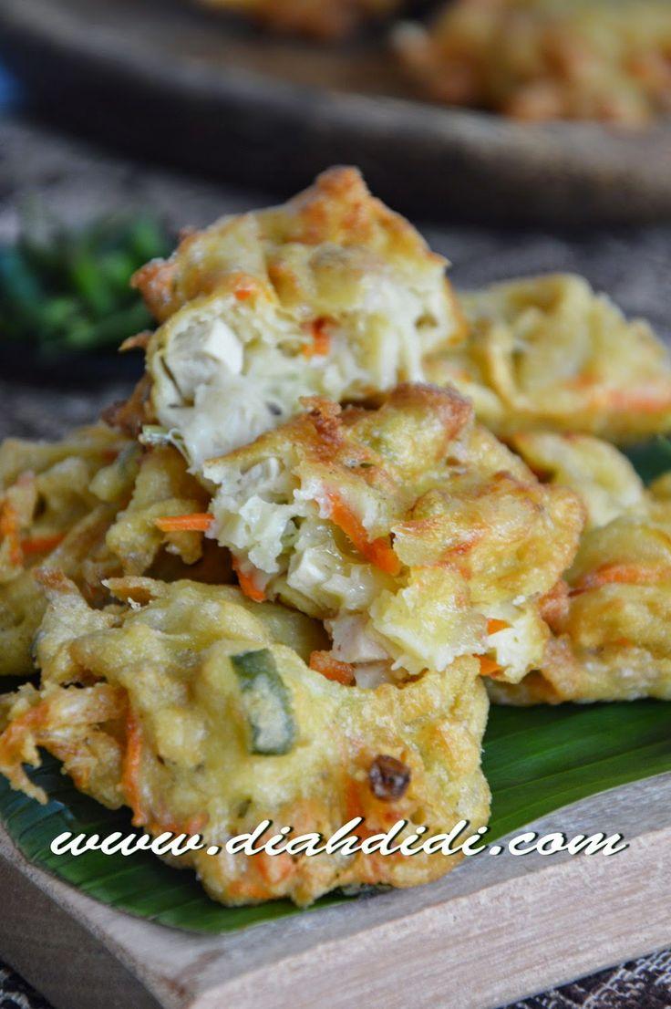 Diah Didi's Kitchen: Bakwan Tahu & Jamur Tiram