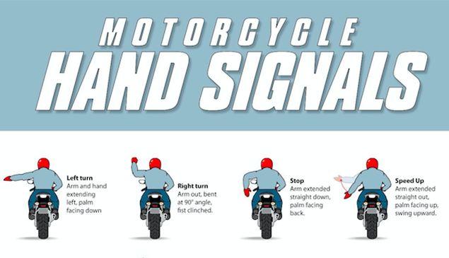 Il linguaggio universale dei motociclisti