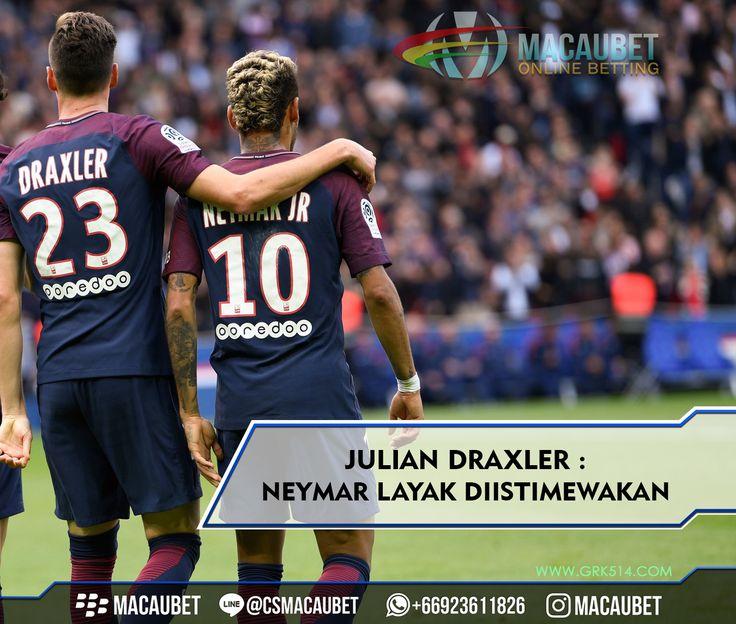 #Macaubet  #MacaubetOnline  #Soccer #News #Sport #Sepakbola #Football #JudiBola #AgenBola #BandarBola #AgenJudi #BandarJudi #Follow4Follow #Like4Like #TaruhanOnline #Fun #BandarOnline #Neymar #BeritaSepakbola #JadwalBola #Beritabola #CasinoOnline #PSG #ParisSaintGermain #Draxler #Cavani #NeymarJr #Paris #Barcelona #RealMadrid
