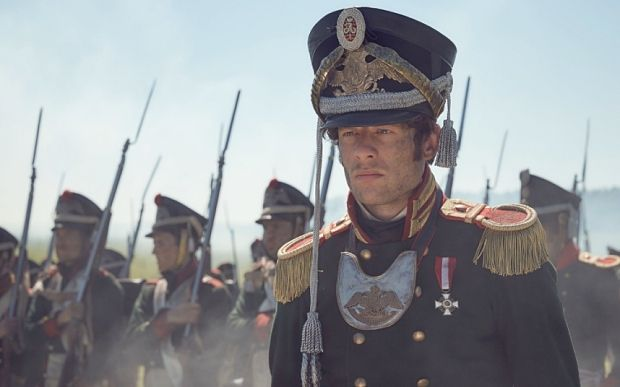 James Norton as Prince Andrei (Photo: BBC/Robert Viglasky) War and Peace, first-look review: 'breathtaking' - Telegraph
