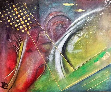 ArteFact,abstrait 61x50 acrylique https://www.facebook.com/vepons