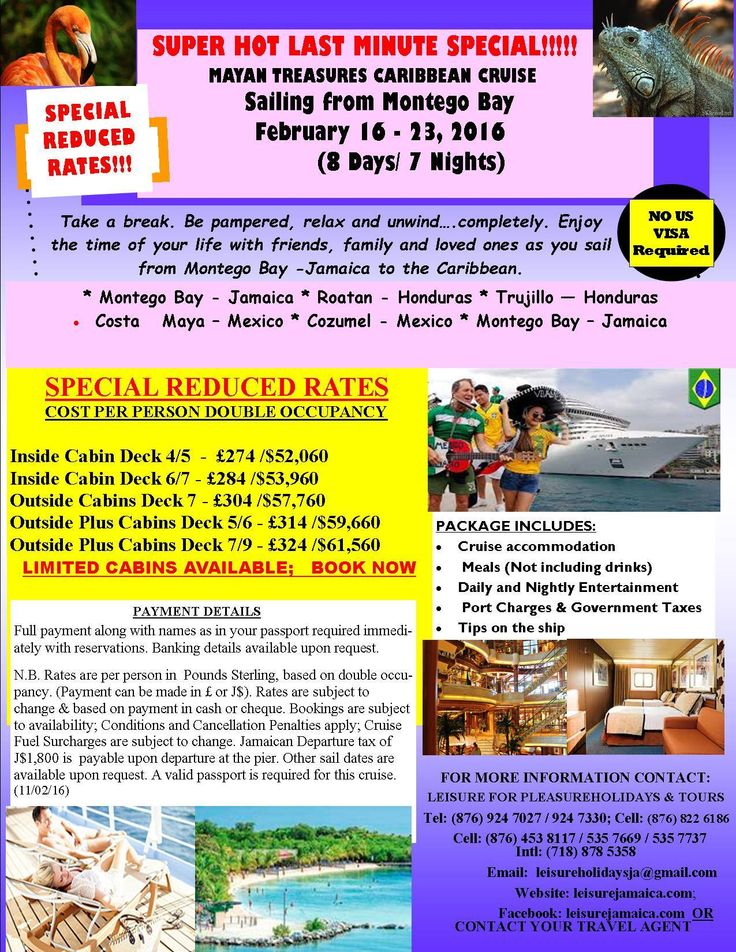 Last minute cruise deals departing from galveston