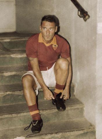 Totti, Time Traveller..... Daje Roma Daje