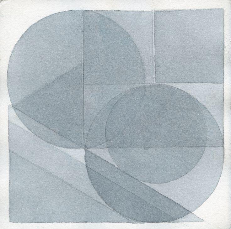 Stanislav Kolíbal - Ohne Titel, 2012, Aquarell