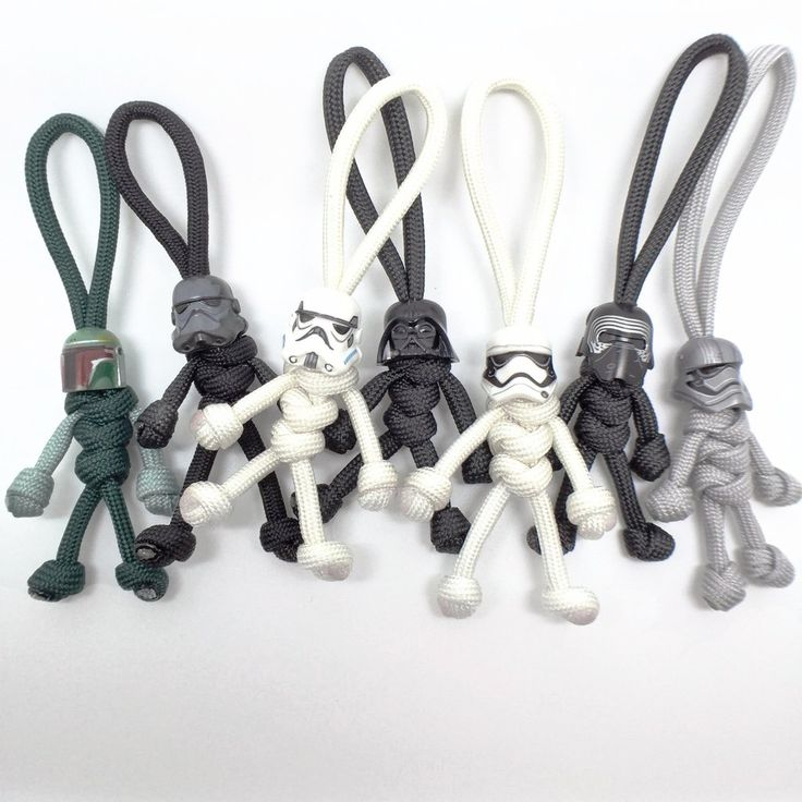 LIMITED EDITION Paracord KeyChain Buddy I need to figure out how to make these!!!