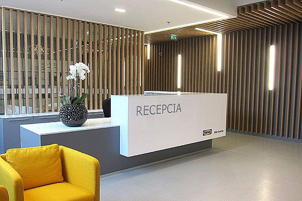 Kancelárie: Recepcia a klientské centrum, IKEA - Arcada.sk
