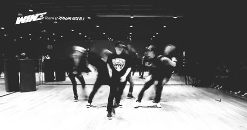 just look how cool their dance! they're YG's Trainee (Team B of WIN)