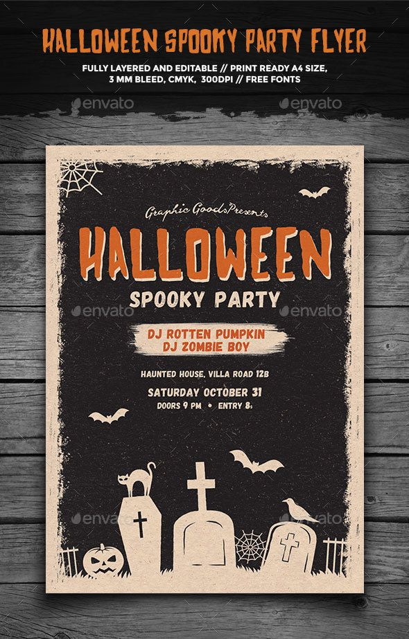 Haunted House Flyer Template Mersnoforum