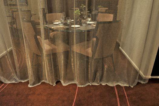 Varia textile ltd London - CHAINMAIL FABRIC - CHAINMAIL CURTAIN - STEEL CURTAINS