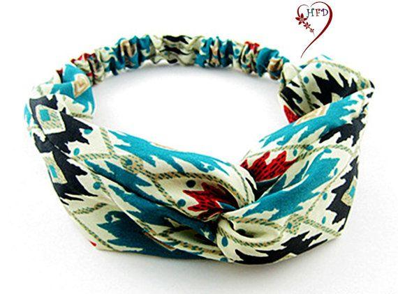 Carino cotone Jersey Twist fascia fascia per di HeartFlowerDesign