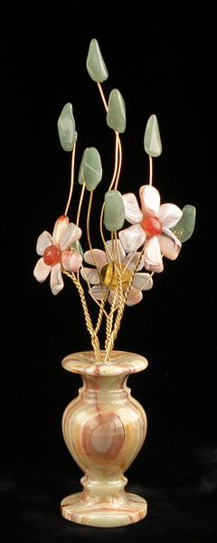 Цветы из камня - Персиковый