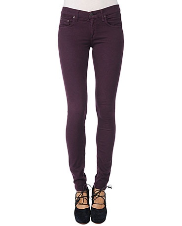 Skinny - Plum jean by Rag & Bone $176