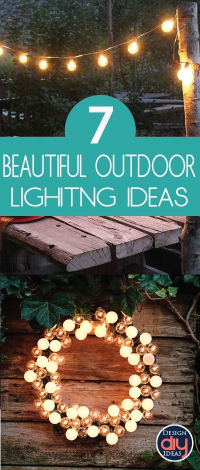 If you enjoy entertaining outdoors, or you are simply looking to add a little curb appeal, lighting is it! Check out these 7 outdoor lighting ideas.