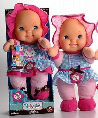 Amazon.com: Seedlings Babys First Doll That Giggles: Toys & Games