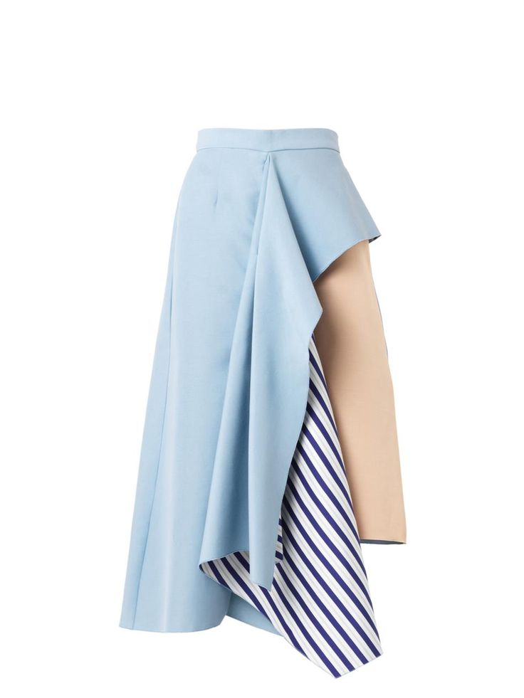 Roksanda Langston asymmetric ruffle skirt