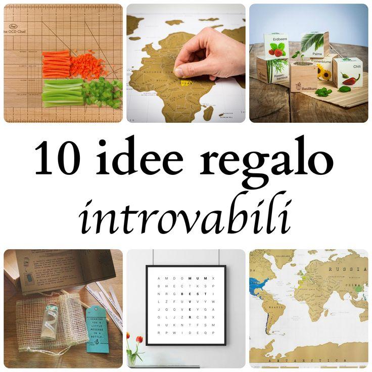 10 idee regalo introvabili