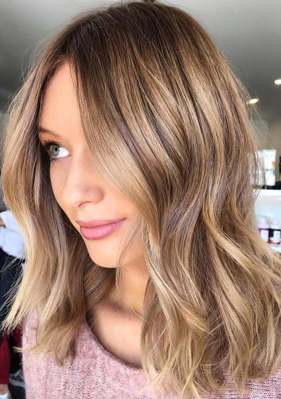 Fantastic Golden Bronde Hair Colors & Hairstyles Trends for 2018