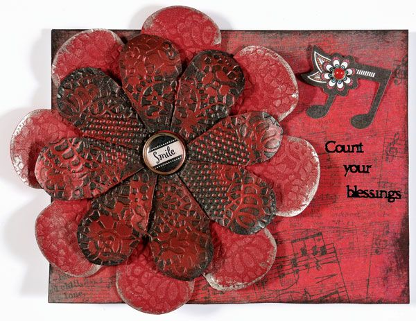 Webisode featuring We R Memory Keepers Flower Punch Board ...