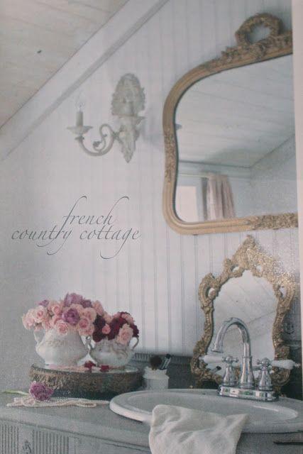 10 images about elegant bathrooms on pinterest shabby for French cottage bathroom design