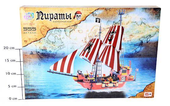 Конструктор-корабль Joy Toy ВОХ 49*35*6см Пираты, арт. 3061 http://ooo-katalog.ru/products/6288-konstruktor-korabl-joy-toy-voh-49356sm-piraty-art-3061  Конструктор-корабль Joy Toy ВОХ 49*35*6см Пираты, арт. 3061 со скидкой 369 рублей. Подробнее о предложении на странице: http://ooo-katalog.ru/products/6288-konstruktor-korabl-joy-toy-voh-49356sm-piraty-art-3061