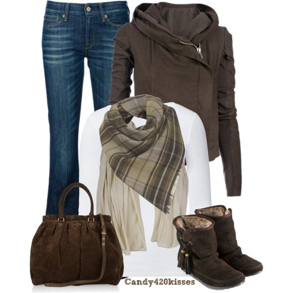 Love the casual fall look! looks comfy too !