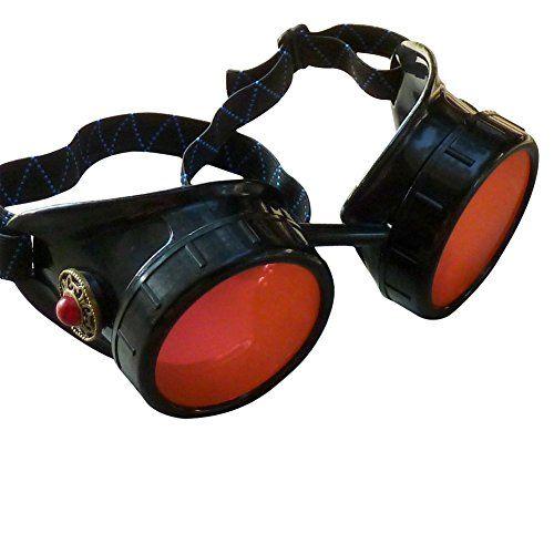 Steampunk Victorian Goggles welding Glasses diesel punk--limited GGG-red umbrellalaboratory http://www.amazon.com/dp/B00F2VJCQK/ref=cm_sw_r_pi_dp_N.mxub0ATXE00