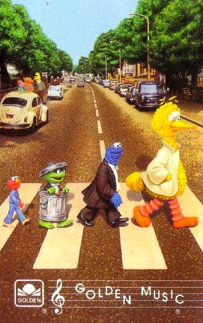 Abbey Road Sesame Street Muppets