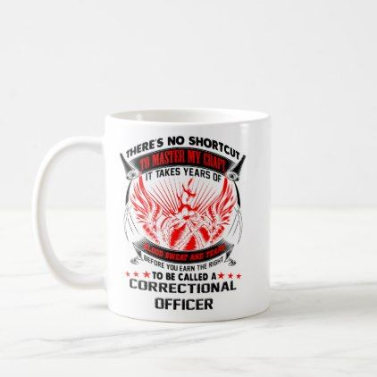 Correctional Officer Mug Coffee Travel Mugs Gifts - home gifts ideas decor special unique custom individual customized individualized