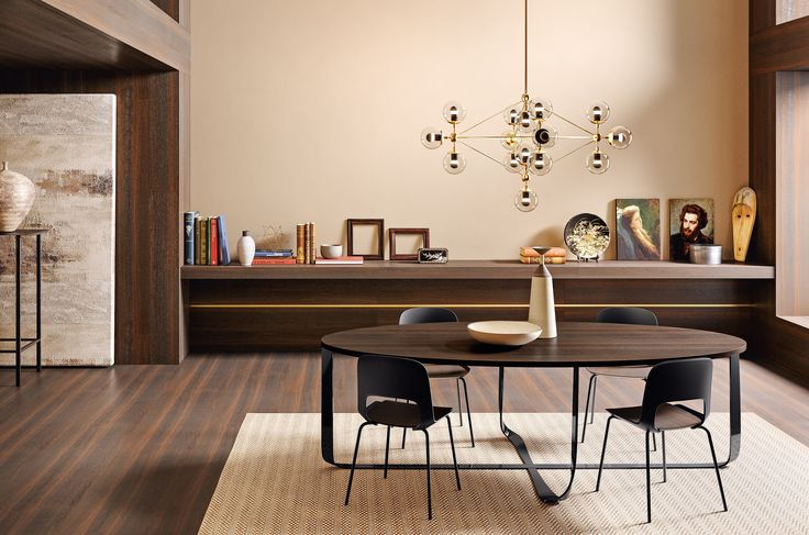 CONFLUENCE table and CORA chairs | PIANCA | www.pianca.com