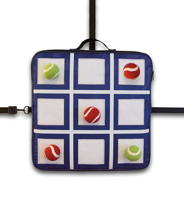 Actually, u think I could it this with some Velcro sheets, hot glue gun and some felt and tennis balls... Look at this Tic-Tac-Toss Game on #zulily today!
