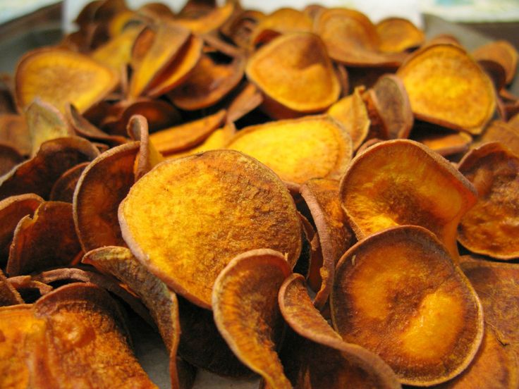 Batata-doce frita (Sweet potato chips)