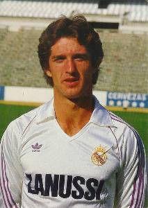 Chendo con el uniforme del Real Madrid, 1985 [Chendo]