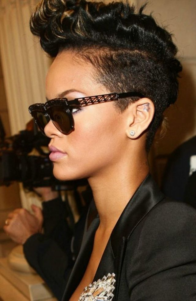 Groovy 1000 Images About Rihanna Hairstyles On Pinterest Short Hairstyles Gunalazisus