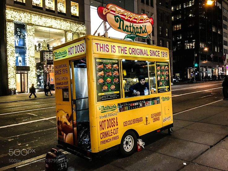 Nathan's Hot Dogs by MaxLow
