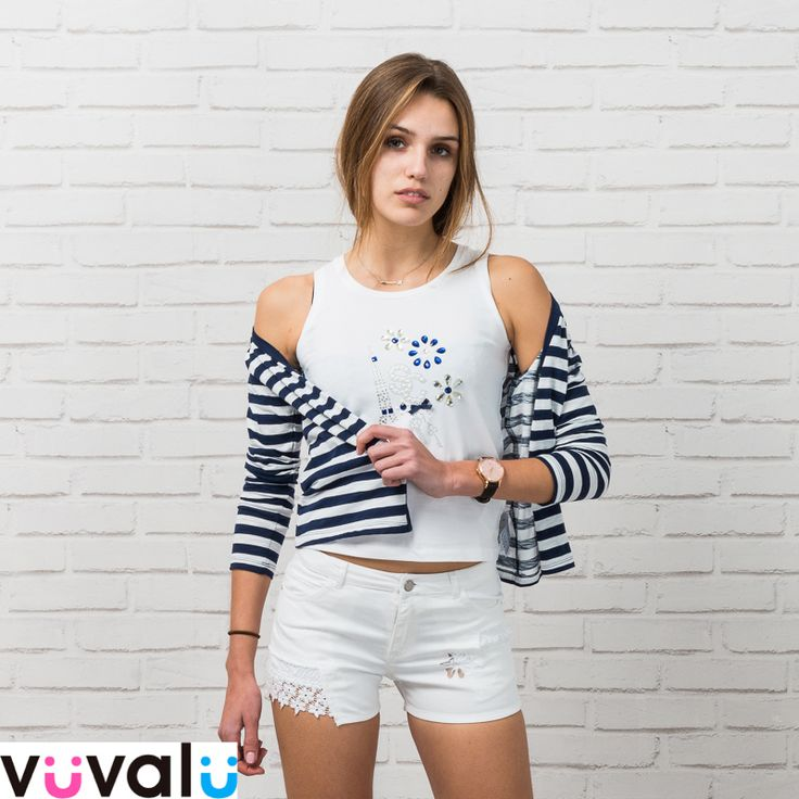 #Outfit marinero #niña junior, marca #Mayoral