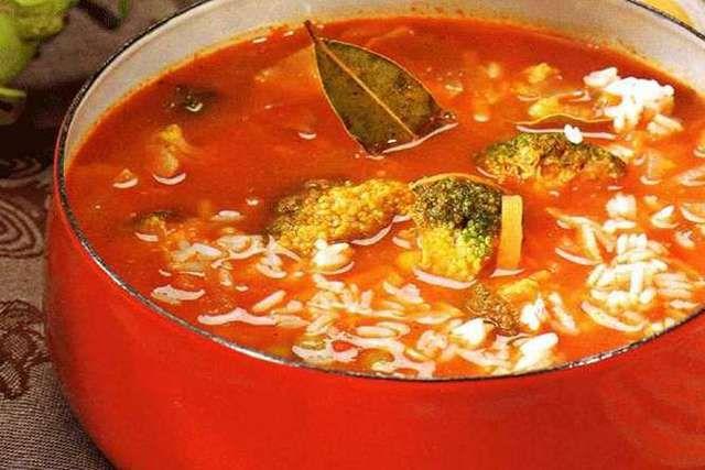 Польская кухня суп польский с овощами