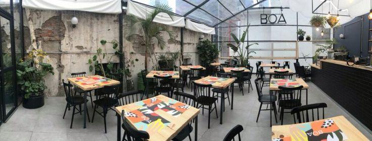 BOA restaurant, MxRz architecture, max raddatz arquitecto. Santiago, Chile Greenhouse, Real Food, Architecture.